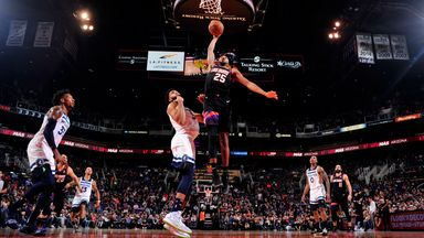 NBA Wk8: Timberwolves 109-125 Suns