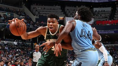 NBA Wk8: Bucks 127-114 Grizzlies