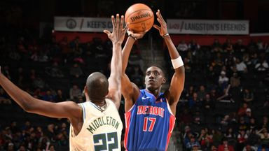 NBA Wk7: Bucks 127-103 Pistons
