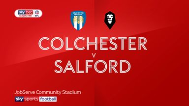 Colchester 1-0 Salford