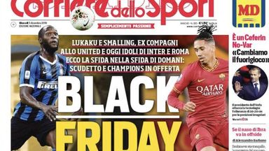 Lukaku agent: 'Black Friday' headline shameful
