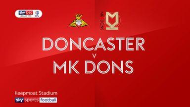 Doncaster 1-1 MK Dons