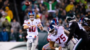 Giants 17-23 Eagles (OT)