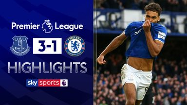 Everton beat Chelsea in Ferguson's first game