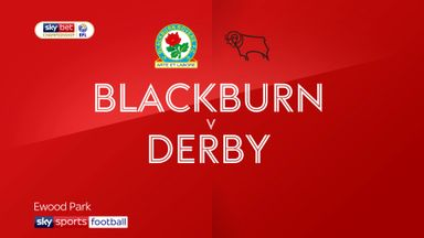 Blackburn 1-0 Derby