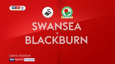 Swansea 1-1 Blackburn