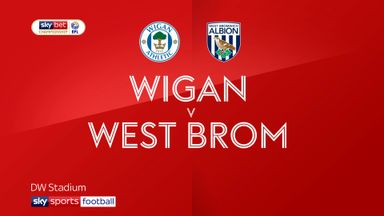 Wigan 1-1 West Brom