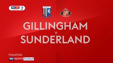 Gillingham 1-0 Sunderland