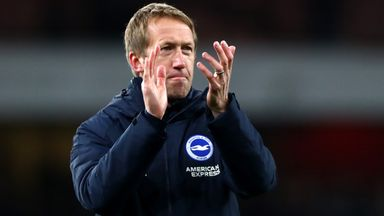 Potter proud of Brighton players