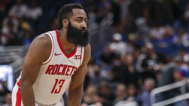 Harden hits 54 points over Magic