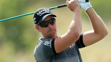 Stenson so close to albatross