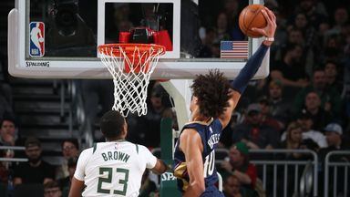 NBA Wk 8: Pelicans 112-127 Bucks