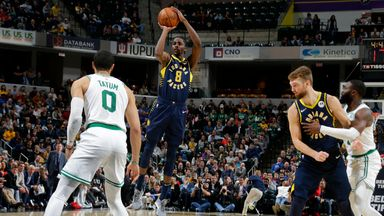 NBA Wk 8: Celtics 117-122 Pacers
