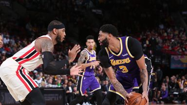 NBA Wk7: Lakers 136–113 Trail Blazers