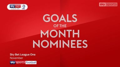 League One goals of the month