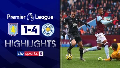 Ruthless Leicester see off Villa in style