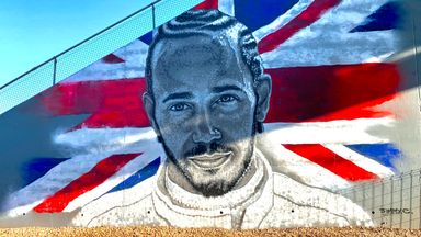 Spectacular Hamilton mural