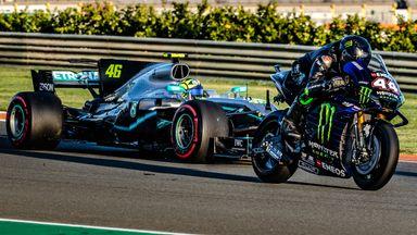 Hamilton and Rossi's ultimate job swap