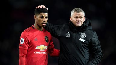 Ole: I won't hold my breath on Rashford