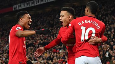 Solskjaer: I believe in our front three