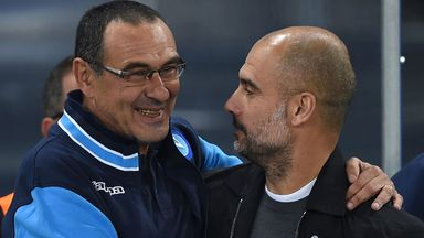 Sarri: City favourites for CL