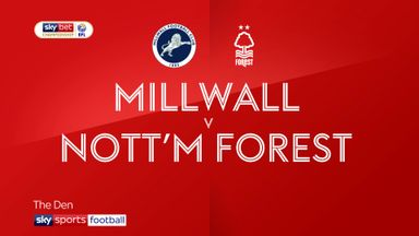 Millwall 2-2 Nottingham Forest