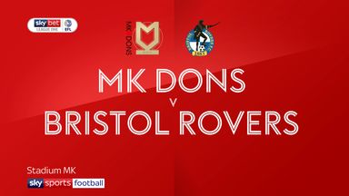 MK Dons 3-0 Bristol Rovers