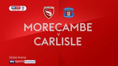 Morecambe 1-1 Carlisle