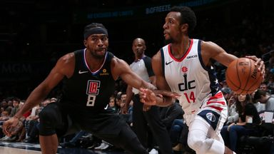 NBA Wk7: Clippers 135-119 Wizards