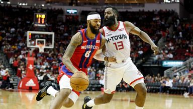 NBA Wk8: Pistons 115-107 Rockets