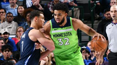 NBA Wk7: Timberwolves 114-121 Mavericks