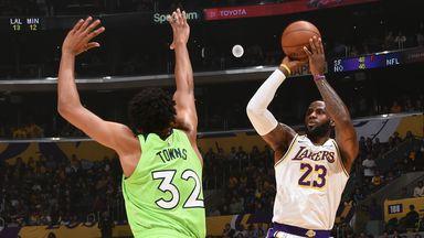 NBA Wk7: Timberwolves 125-142 Lakers