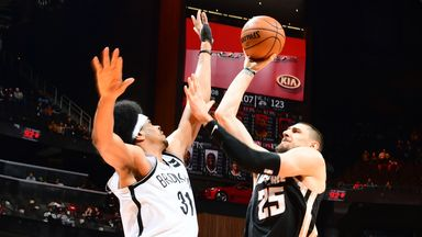 NBA Wk7: Nets 130-118 Hawks