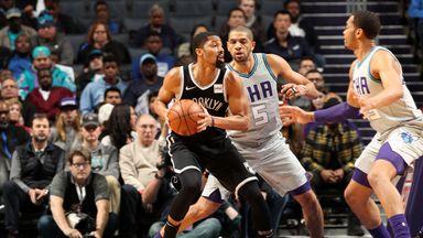 NBA Wk7: Nets 111-104 Hornets