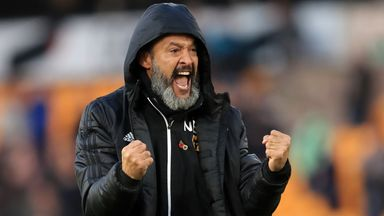 Nuno: Wolves grew during Europa League