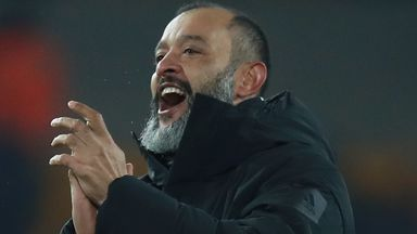 Nuno 'proud' of Wolves form
