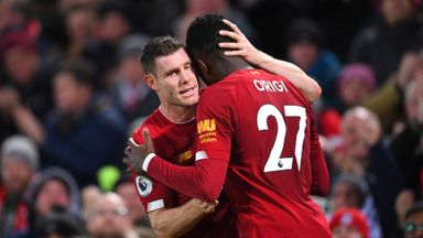 'Origi stepped up to the plate'