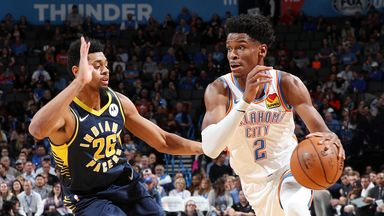 NBA Wk7: Pacers 107-100 Thunder