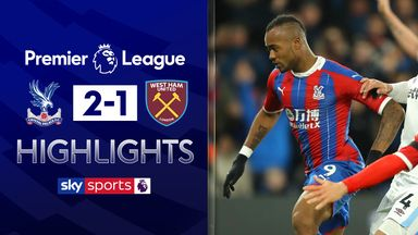 Ayew's late cracker gives Palace victory