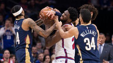 NBA Wk8: Pelicans 109-116 76ers