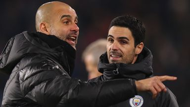 Pep: I can't decide Arteta's future