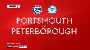 Portsmouth 2-2 Peterborough