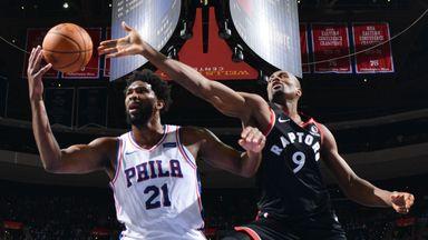 NBA Wk7: Raptors 104-110 76ers