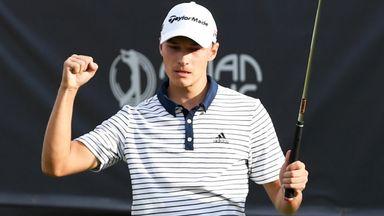 Hojgaard claims 'dream' Mauritius win