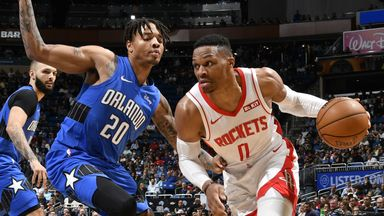 NBA Wk8: Rockets 130-107 Magic