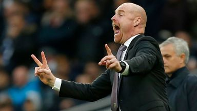 Dyche reveals chance meeting with Jose