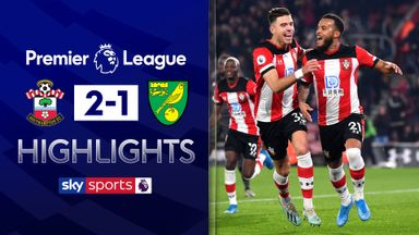 Saints beat relegation rivals Norwich