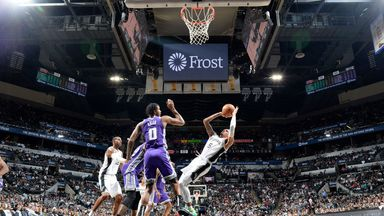 NBA Wk7: Kings 104-105 Spurs (OT)