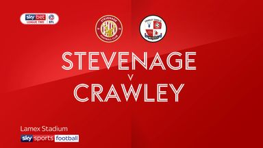 Stevenage 0-0 Crawley