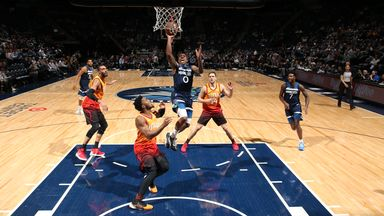 NBA Wk 8: Jazz 127-116 Timberwolves